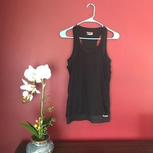 Fila Live in Motion Layered Athletic Tank Top